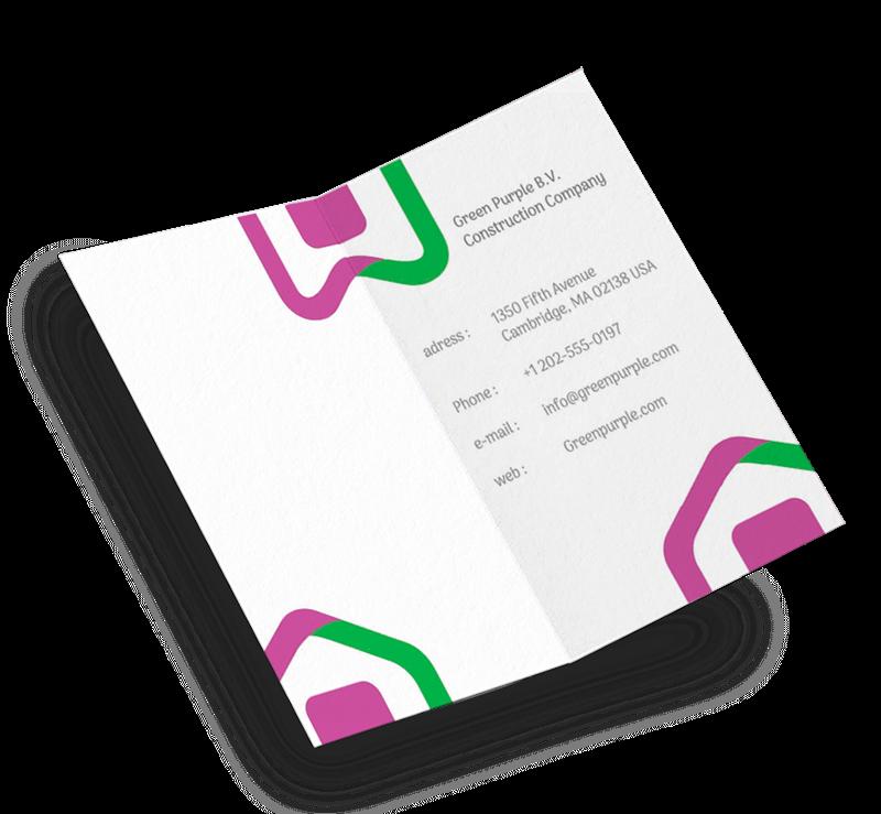 Imagen para la categoría Tarjetas de Presentación Plegado Vertical